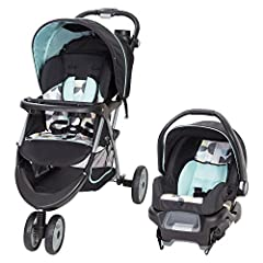 "Stroller designed for children up to 50 pounds and up to 42"" Dual front wheels for superior maneuverability Large canopy with peek-a-boo window and large storage basket Height-adjustable handle and covered parent tray is great for Mom and Dad Swing-a..."