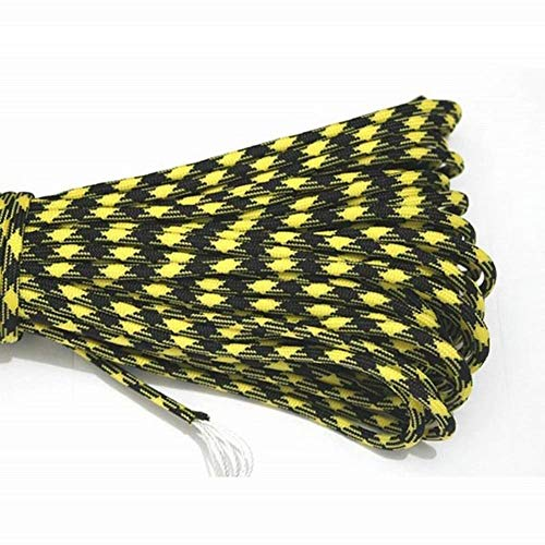 LSHUNYDE Corde de sécurité Paracord 550 Parachute Cord Lanyard Rope Mil Spec Type Iii 7 Strand 100Ft 31M Escalade Camping Équipement de survie Corde d'escalade, 6,7
