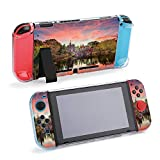 SUPNON Switch Case Compatible with Nintendo Switch Games Protective Hard Carrying Cover Case for Nintendo Switch Console Joy Con Controlle - Central Park, New York City at Belvedere Design36948