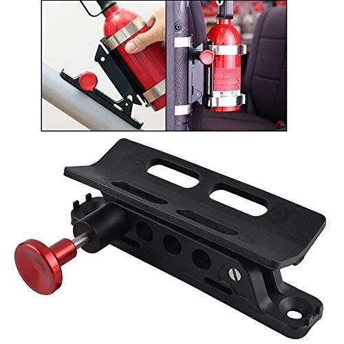 Verstellbare Überrollbügel für Feuerlöscher, Rollkäfig-Halterung, Rack für Jeep Wrangler CJ JK TJ UTV RZR XP, rot