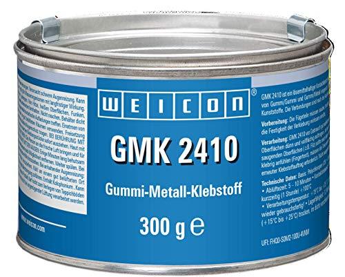 Weicon 16100300 GMK 2410 Kontaktklebstoff 300g dauerelastisch haftstark und schnellhärtend, braun
