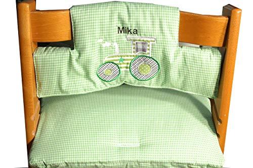 Kissen passend für Tripp Trapp 2-tlg, hier mit Traktor, C-Fashion-Design