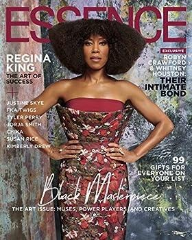 Essence Magazine  December 2019  Regina King Cover