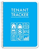 BookFactory Tenant Tracker Record Book/Rental Tracking Log Book - Wire-O, 100 Pages, 8.5' x 11' (RNT-100-7CW-PP-(TenantTracker)-RX)