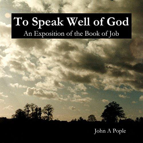 To Speak Well of God audiobook cover art