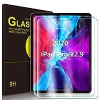 IVSO iPad pro 12.9 2020 ガラスフィル 2枚  iPad pro 12.9 2020 フィルム 最新モデル iPad pro 12.9 2020保護フィルム