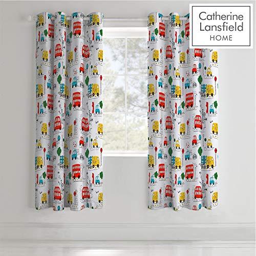 cortinas infantiles niño coches