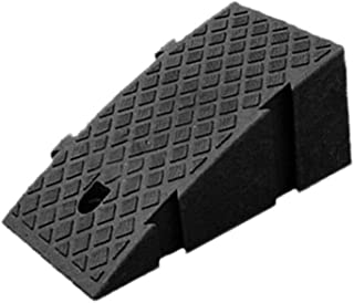 caravanes Moto utile v/éhicules Voitures Skateboard 50 * 22 * 5cm Scooters Noir niyin204 Rampes de Trottoir en Plastique Rampe de seuil tr/ès r/ésistante pour fauteuils roulants