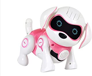 Smart chargeable Walking, Singing and Dancing Dog Robot in two colours (Pink)