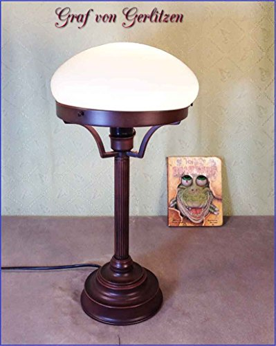 Graf von Gerlitzen Pilz Stand Tisch Büro Lampe Leuchte Bauhaus Tischlampe Pilzlampe GN211