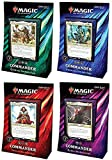 Magic The Gathering - Commander 2019 Pack 4 Decks Español (Génesis Primigenio, Amenaza sin Rostro, Intelecto Místico y Rabia Despiadada)