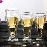 N/F Vaso para licores Vaso de Cerveza Vaso de Jugo Vaso Transparente Resistente al Calor Vaso de Agua Barra de Cristal Especial