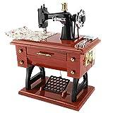 Simlug Scatole Musicali, Macchina da Cucire Stile Carillon Collezione Anniversario Regalo ...