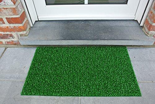 AstroTurf Classic Fußmatte, Fußabstreifer Eingangsmatte für Innen- und Außenbereich, Unvergleichliche Reinigungsleistung, Polyethylen, Frühlingsgrün, 70x40x2 cm