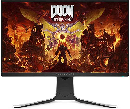 Alienware AW2720HF 27 Inch Gaming Monitor (White) (1ms GtG Response Time, Full HD LCD 1920 x 1080 at 240 Hz, AMD Free-Sync, DP/HDMI, USB) 2020 Model