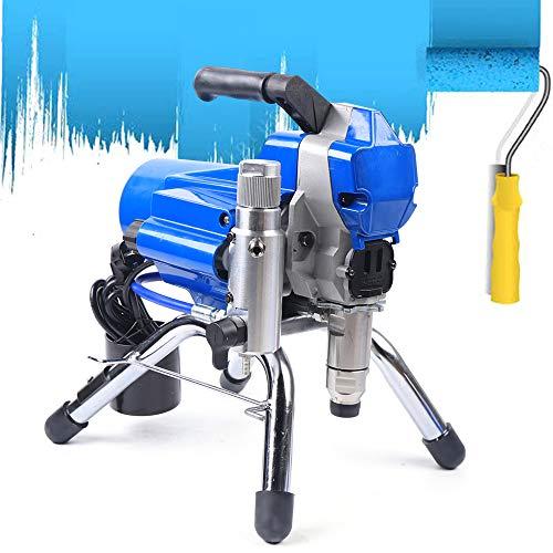 2200W 395 Airless Farbsprühgerät, Hochdruck Farbspritzgerät Farbsprühsystem, Hoher Druck Airless Wandfarbe Spritzpistole Spritzmaschine DHL