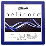 D'Addario Helicore Orchestral 3/4 String Bass G String - Medium - Nickel/Steel
