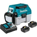 Makita XCV11T 18V LXT Lithium-Ion Brushless Cordless 2 Gallon HEPA Filter Portable Wet/Dry Dust...