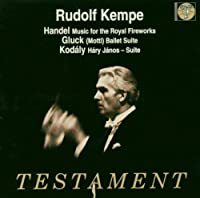 Kempe Conducts: Royal Fireworks Music / Hary Janos
