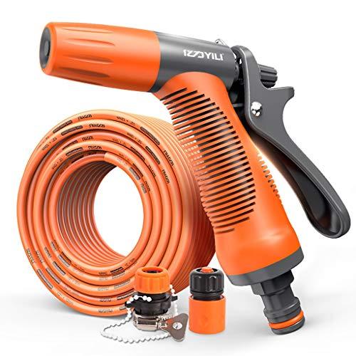 GuanJu Hochdruck Wasserpistole Düse Schlauch Set Werkzeug Hausgarten Bewässerung Reinigung Einstellbare Spray (größe : 5m)