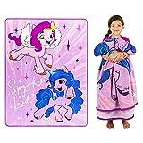Franco Kids Bedding Super Soft Plush Micro Raschel Blanket, 62' x 90', My Little Pony