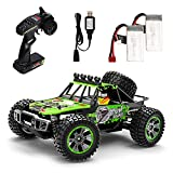 [ 1/10 Scale RC Cars for Adults ]: 1/10 Scale big size makes this high speed offroad truck works perfect in all terrain,with 4 wheel drive system and powerful 540 motor,this remote control car's speed would up to 48+ km/h,surely ideal choice for both...
