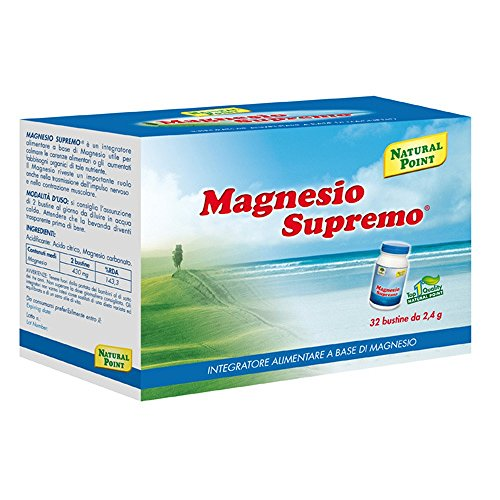 Natural Point Magnesio Supremo 32 Bustine - 80 Gr