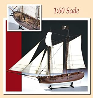 Amati Adventure Pirate Ship - Wooden Model Ship Kit