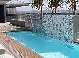 Lama per acqua cascata in acrilico, larghezza 120 cm
