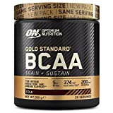 Optimum Nutrition ON Gold Standard BCAA Polvo, Suplementos Deportivos con...