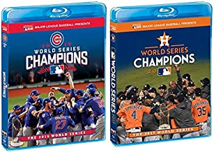 Major League Baseball: 2016 & 2017 World Series Champions - The Chicago Cubs & Houston Astros vs. Los Angeles Dodgers