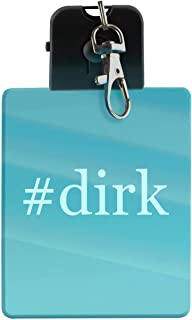 #dirk - Hashtag LED Key Chain with Easy Clasp