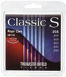 Thomastik Cuerdas para Guitarra Clásica Classic S Series juego Rope Core, cuerda de artista KR116