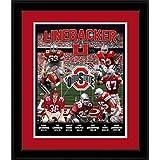 Ohio State Buckeyes–ラインバッカーU–Framed Photo