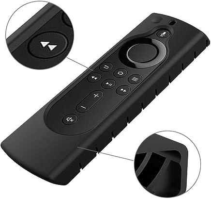 リモコンシリコーンカバーFor Fire tv stick 4K(ブラック)