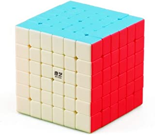 CuberSpeed QiYi Qifan S 6x6 Stickerless Bright Magic Cube MoFangGe MFG Qifan S 6x6x6 Color Speed Cube