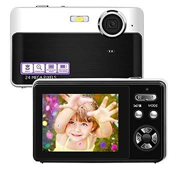 デジタルカメラ コンパクト デジカメ ミニデジタルカメラ 1080P 30FPS 2400万画素数 日本語取説 近景モード付き フラッシュライト 2.4インチIPSスクリーン 3Xデジタルズーム 32GBカード対応
