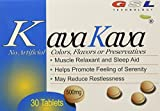 (2 Packs) kava kava muscle relaxant and sleep aid (30ct each) 500 milligrams
