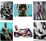 DIEUX DU STADE Set of 6 Sexy Hunks Refrigerator Magnets Fridge Magnets - French Rugby Team 005