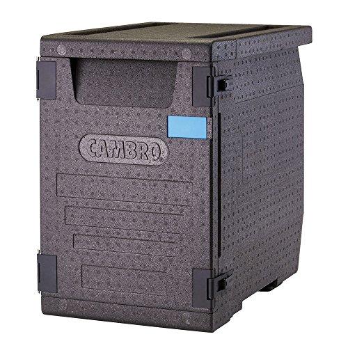 CAMBRO - Cam GoBox Contenedor Isotermico, Plástico, Negro, 66 x 44 x 65 cm