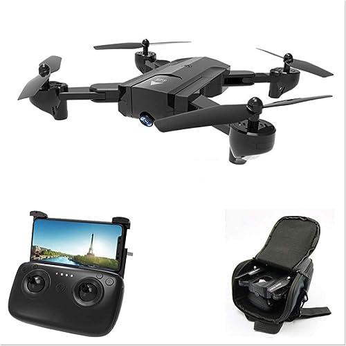 Faltbare RC Drohne mit 720P Weißinkel HD Kamera WiFi FPV Live übertragung Quadcopter, Active Track, Gestensteuerung,,Flugbahn Flug,Headless Modus für Kinder und Anf er