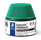 Staedtler Lumocolor 488 51-5. Cargador para marcadores Lumocolor 351 y 351 B. Un frasco con tinta de color verde.