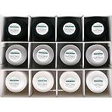 MADEIRA Overlock 9200 - Scatola per filati assortiti, 3 x 1000 m, 9 x 1200 m, colore: Bianco/Grigio chiaro/Nero