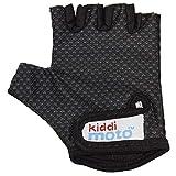 KIDDIMOTO Guantes de Ciclismo sin Dedos para Infantil (niñas y niños) - Bicicleta, MTB, BMX, Carretera, Montaña - Karbon FX - Talla: S (2-5 años)