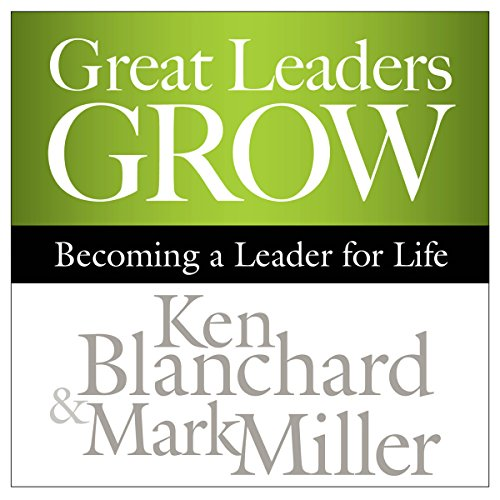 Page de couverture de Great Leaders Grow
