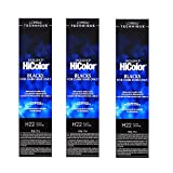 L'Oreal Excellence HiColor H22 Black Sapphire Hair Tint HC-30654 (3 Pack)