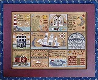 Shores Of Hawk Run Hollow Cross Stitch Chart and Free Anchor Embellishment