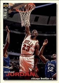1995 Collector's Choice Basketball Card (1995-96) #45 Michael Jordan