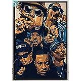 espesyal Tupac Hip Hop Legends Star Canvas Poster Old