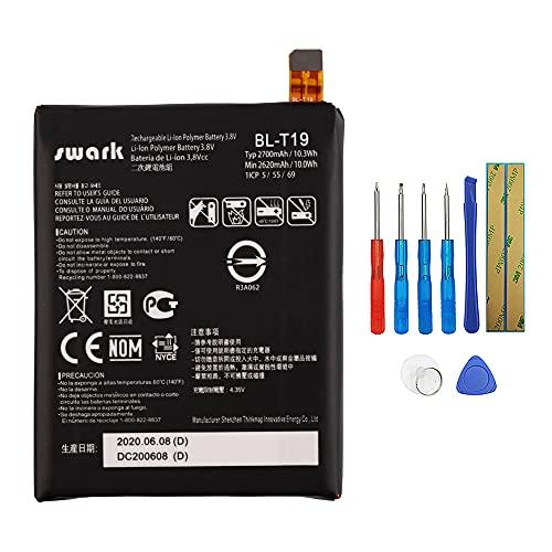 Swark BL-T19 - Batería para LG Google Nexus 5X H791 con herramientas
